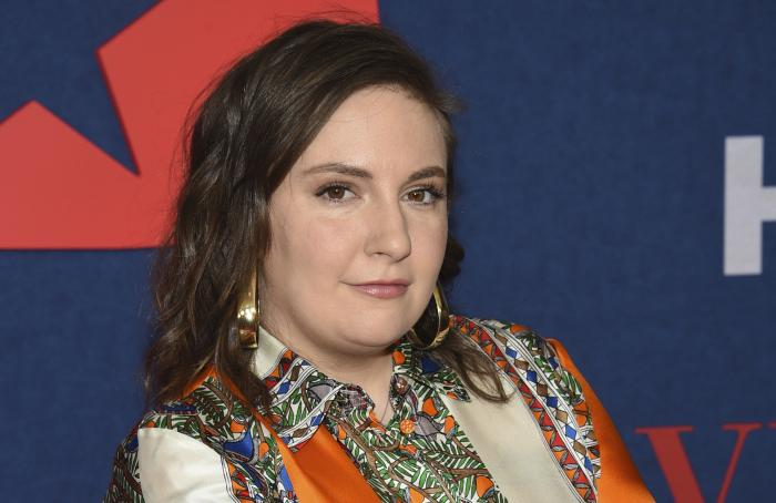 """Lena Dunham attends the premiere of the final season of HBO's """"Veep"""" on March 26, 2019, in New York."""