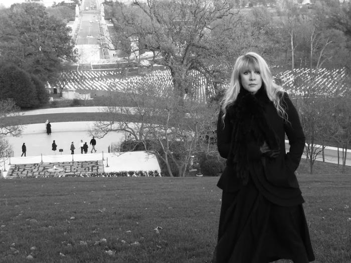 Stevie Nicks in a screen shot from her new video for 'Show Them the Way'