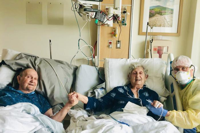 Tom Stevens and his wife, Virginia, were hospitalized with COVID-19 in early August and put in separate rooms. Within a day, their physicians agreed that the couple, married for 66 years, should not be kept apart ? they needed to recover in a room together.