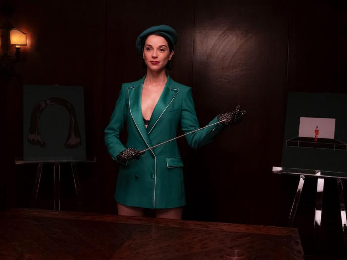St. Vincent as herself in 'The Nowhere Inn'