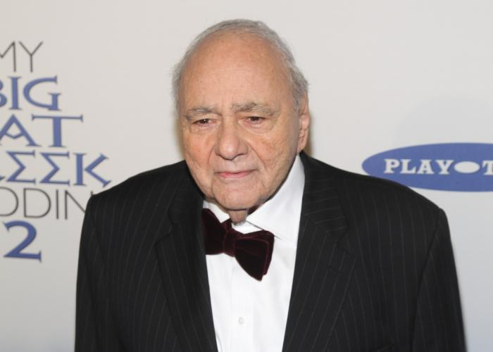 """Michael Constantine attends the premiere of """"My Big Fat Greek Wedding 2""""in New York on March 15, 2016."""