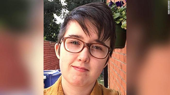 A profile pic of Lyra McKee.