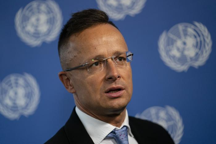 Peter Szijjarto, Hungary's minister of foreign affairs and trade.