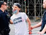 Couldn't Get It Right The First Time? LGBTQ Trump Supporter Defaced NYC BLM Mural Twice