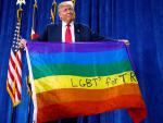 Trump Tweets Dubious Survey Results from Gay Dating App as Proof of his Strength with Gay Male Voters