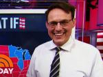 Election Heartthrob Steve Kornacki Joins Football Night in America