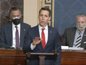 Sen. Josh Hawley Has New Publisher for 'Big Tech' Book